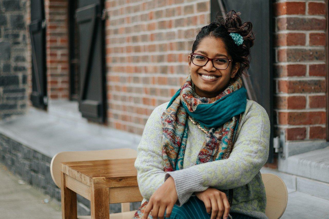 Chandrika Narayanan-Mohan. Contatto. Photographed by Elena Cristofanon