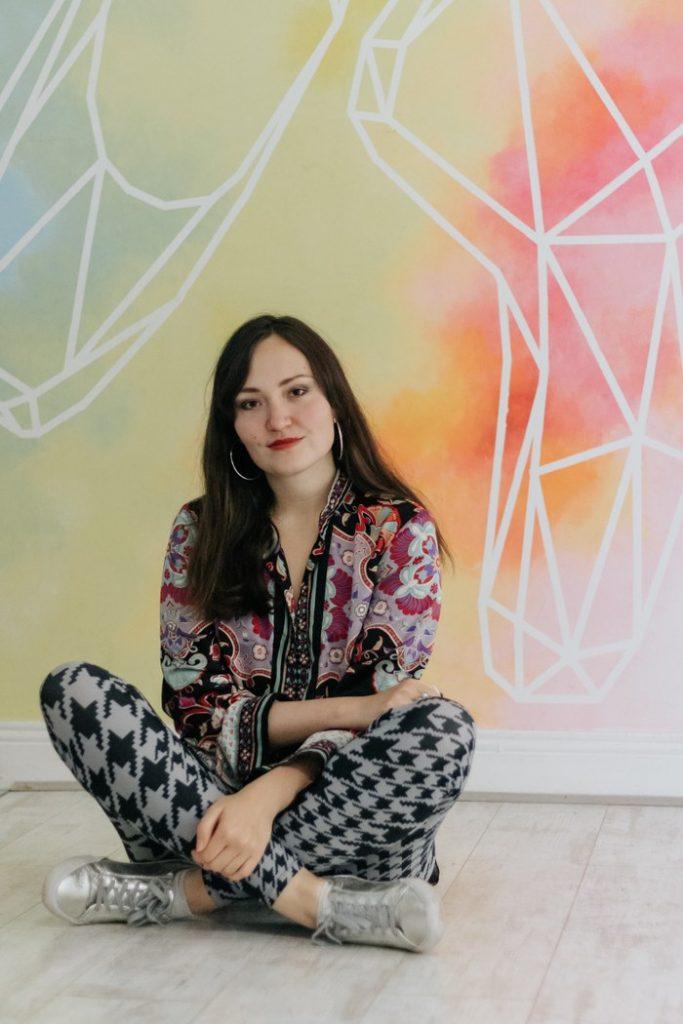 Aleka Potinga. Contatto. Photographed by Elena Cristofanon