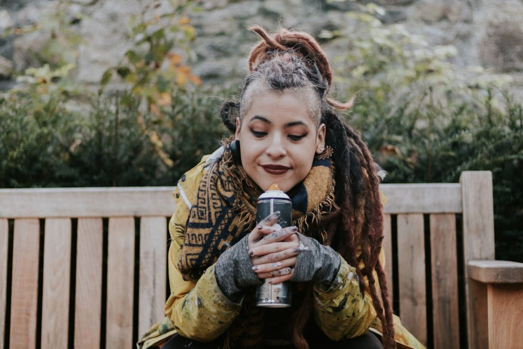 Kathrina Rupit, aka kinmx. Contatto. Photographed by Elena Cristofanon