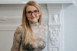 Polina Cosgrave. Contatto. Photographed by Elena Cristofanon