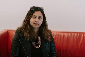 Hina Khan. Contatto. Photographed by Elena Cristofanon